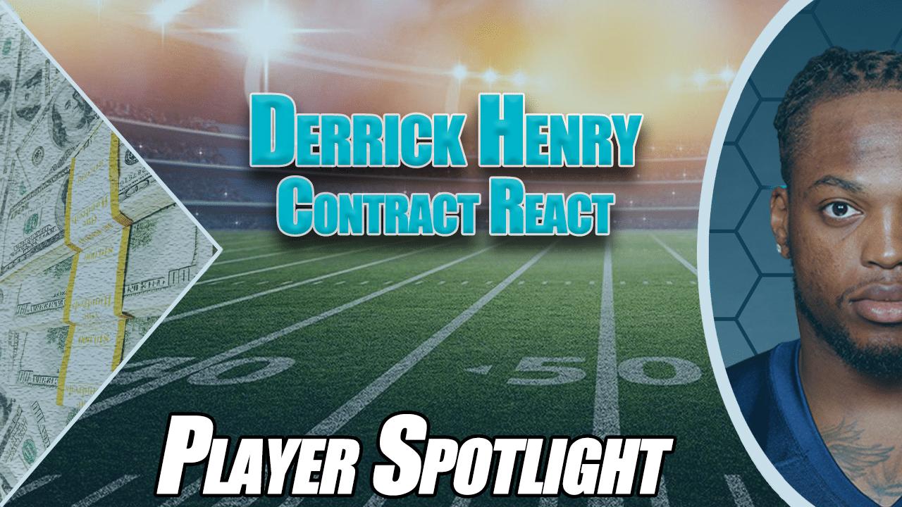 Derrick Henry contract