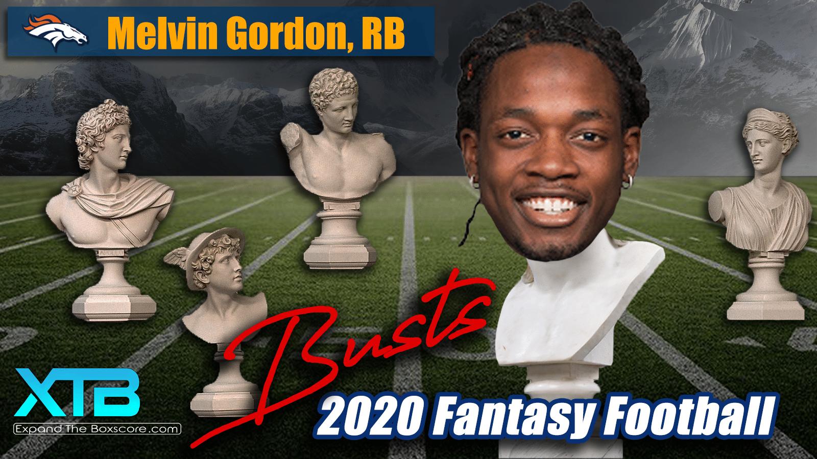 Melvin Gordon 2020 Fantasy Bust