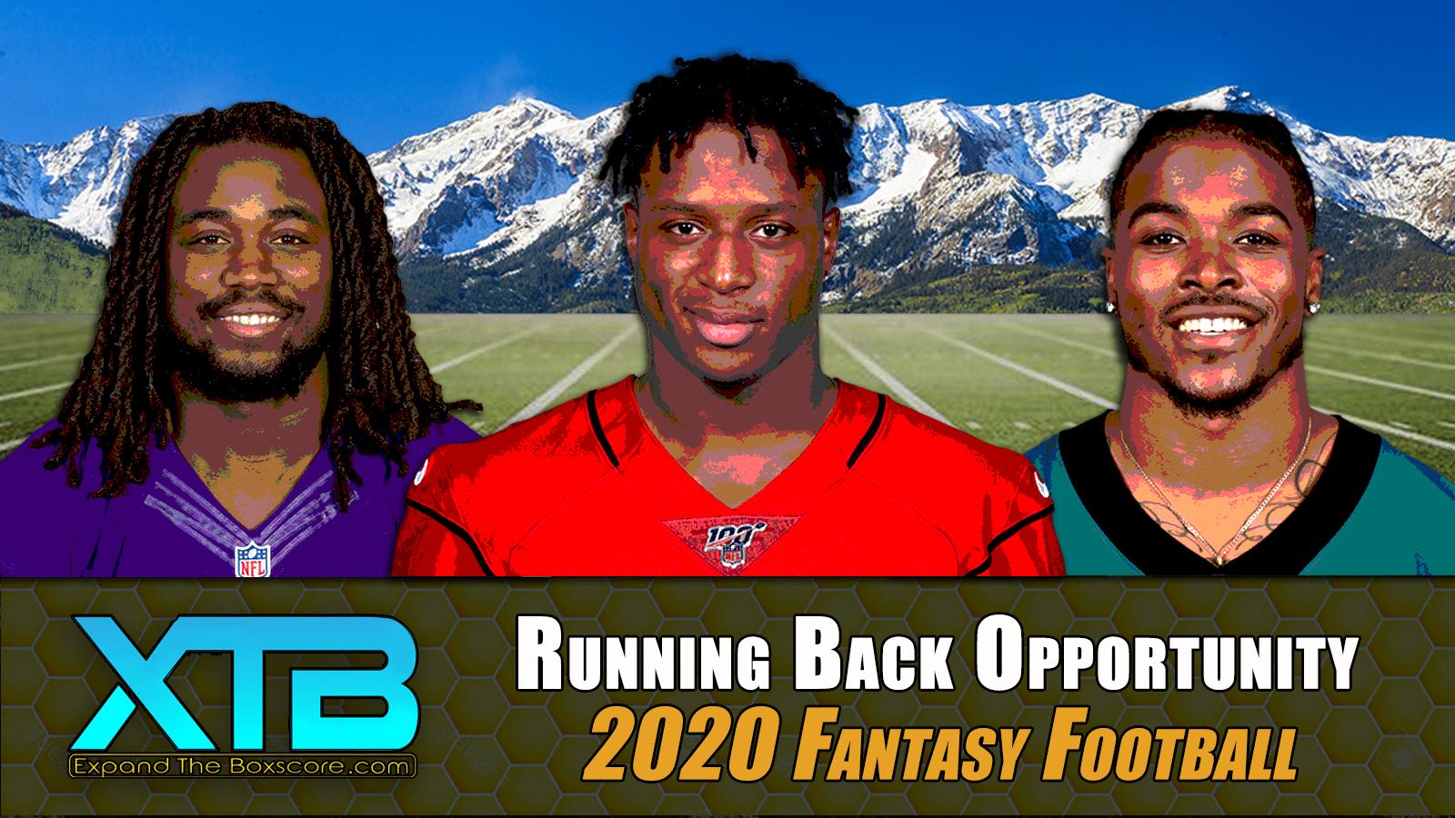 Running Back Opportunity Analysis