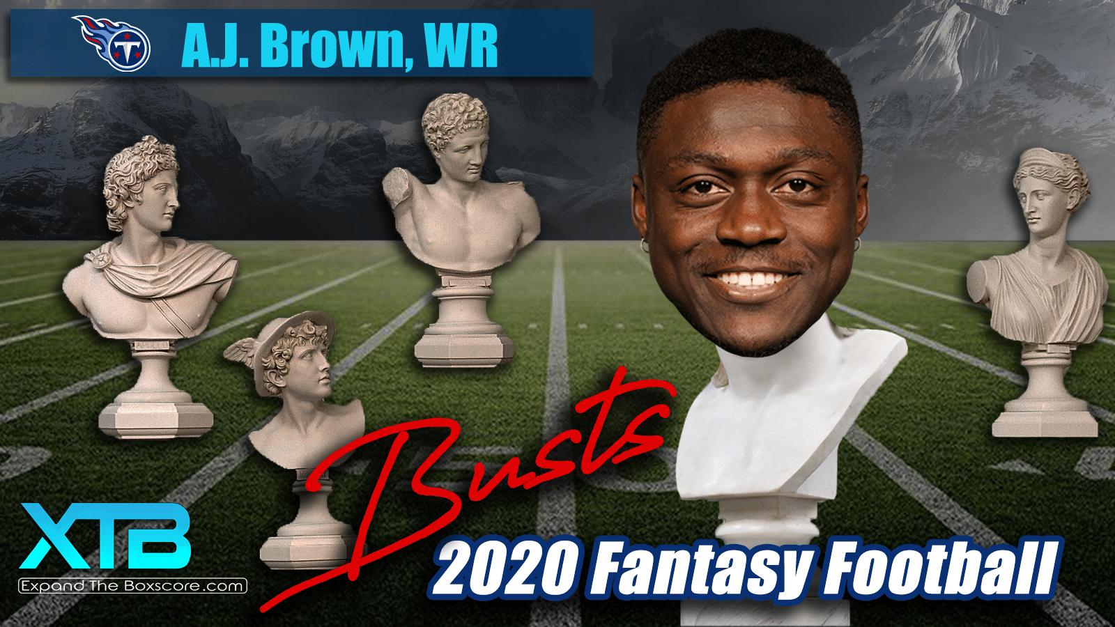 A.J. Brown Fantasy Bust 2020