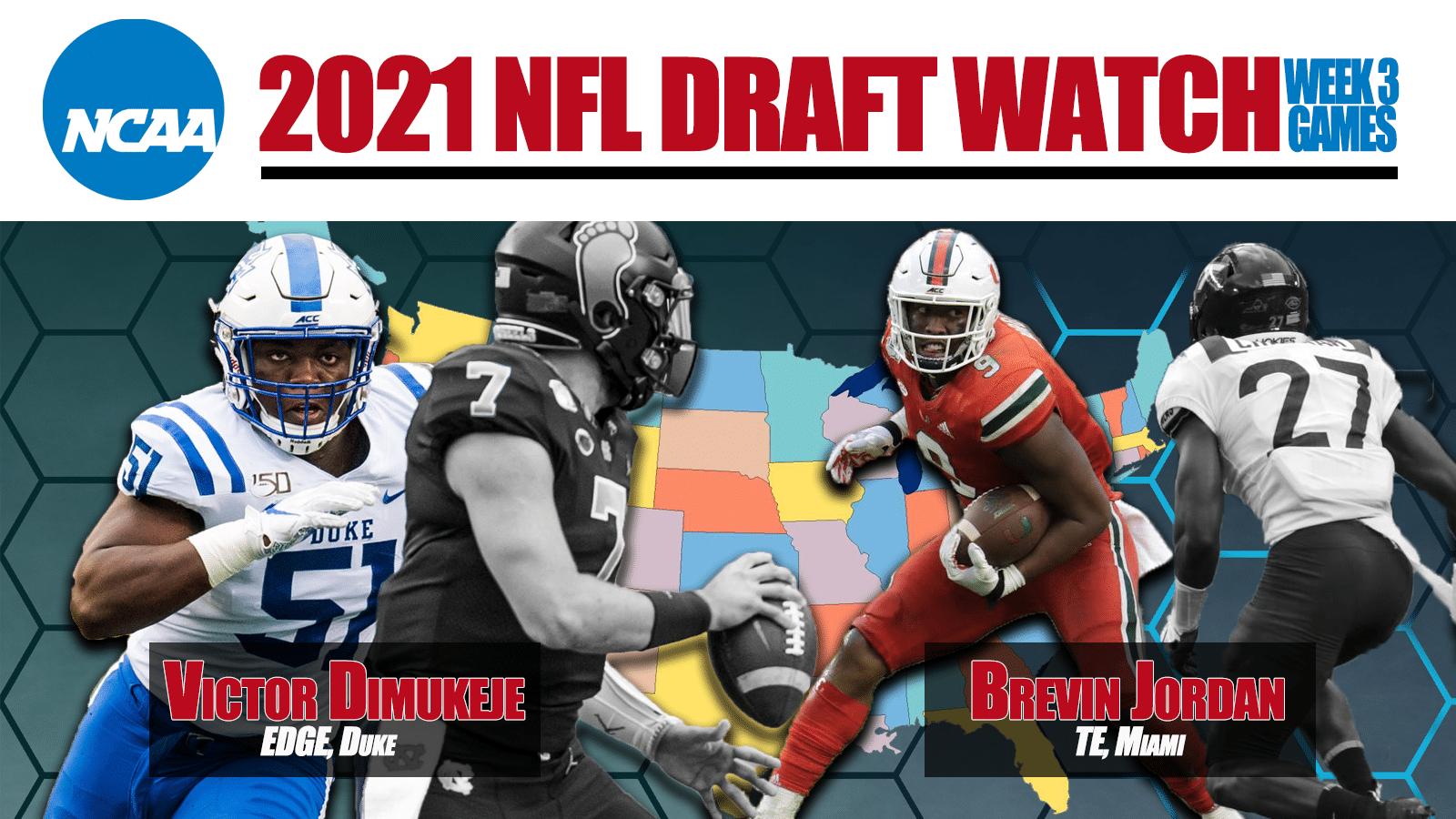 NFL Draft Watch Week 3