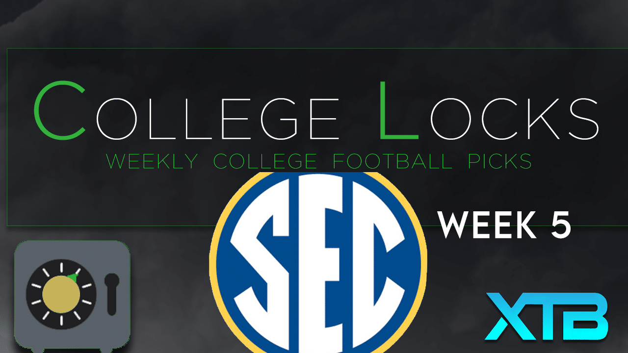 College Locks SEC Week 5
