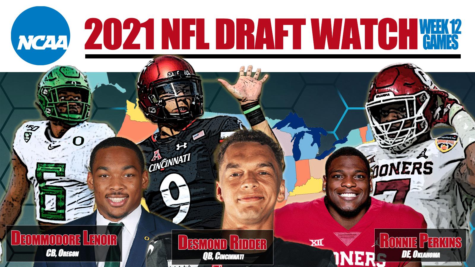 2021 NFL Draft Week 12 Watch