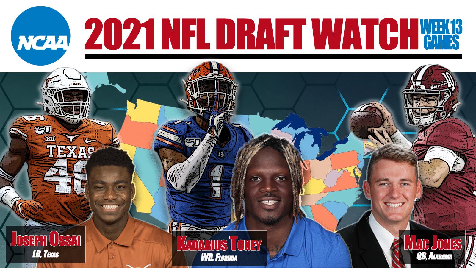 NFL Draft Watch Week 13