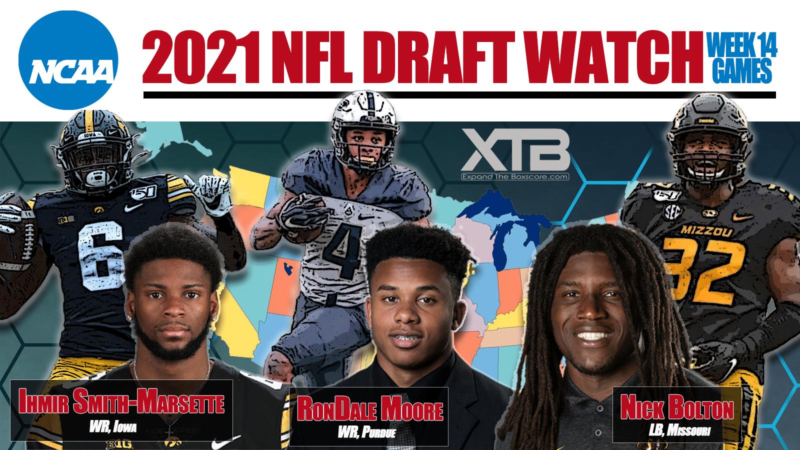 NFL Draft Watch Week 14