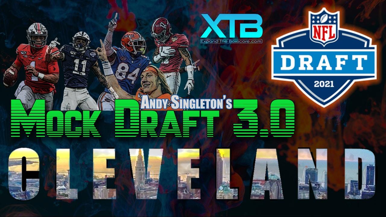 Andy Singleton NFL Mock Draft v3