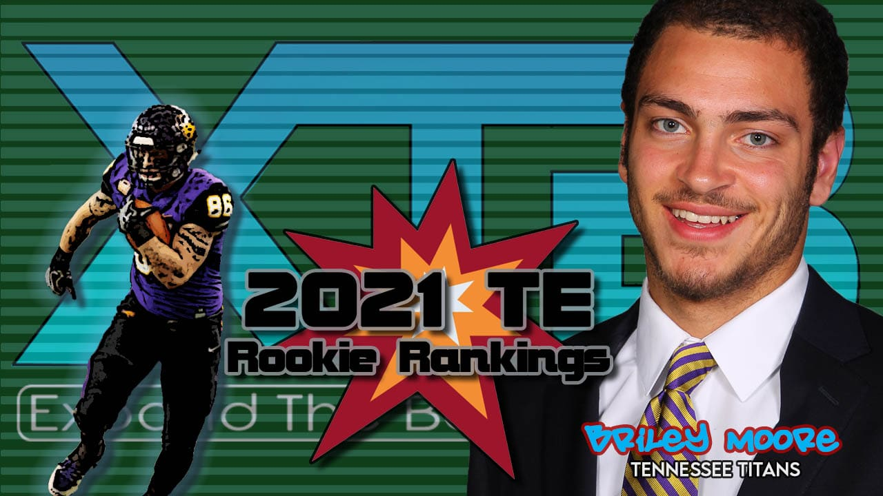 2021 TE Rookie Rankings