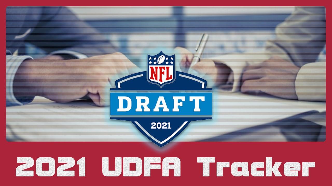 2021 UDFA Tracker