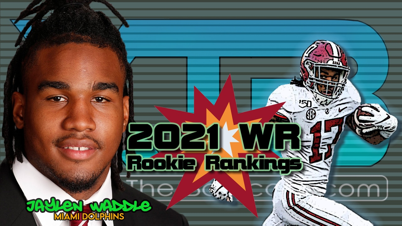 2021 WR Rookie Rankings