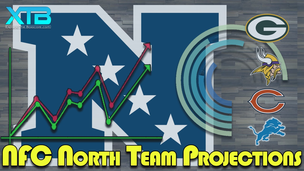 NFC North Team Projections