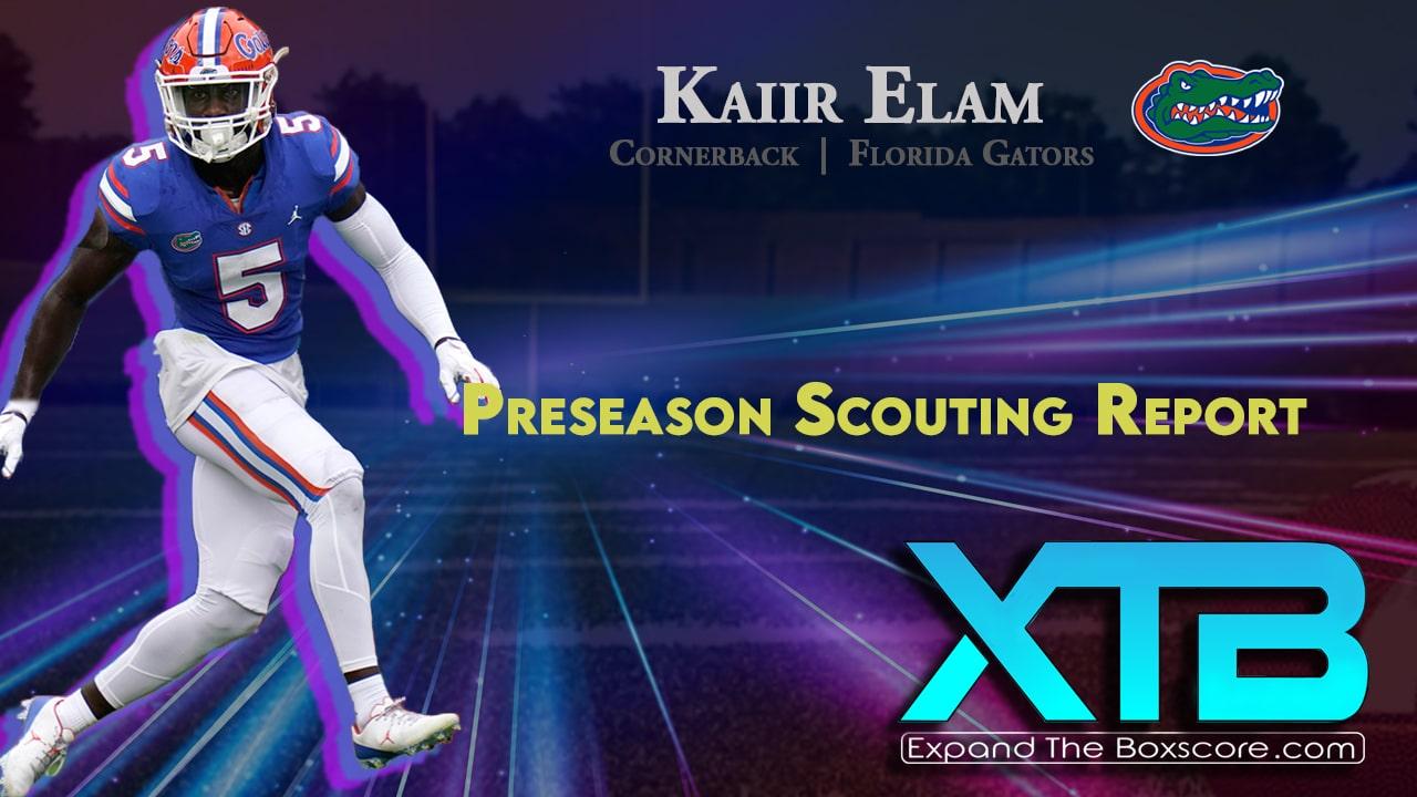 Kaiir Elam Scouting Report