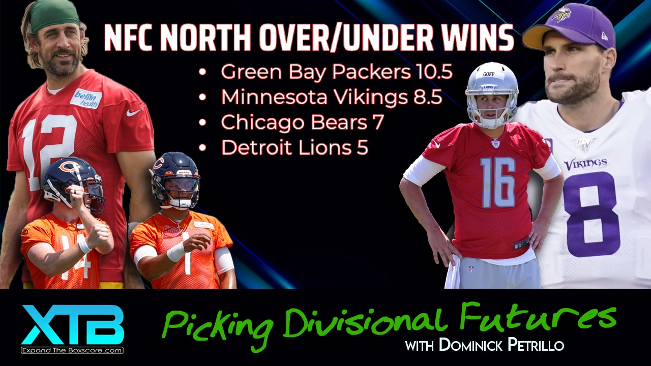 NFC North: Wins Total Futures