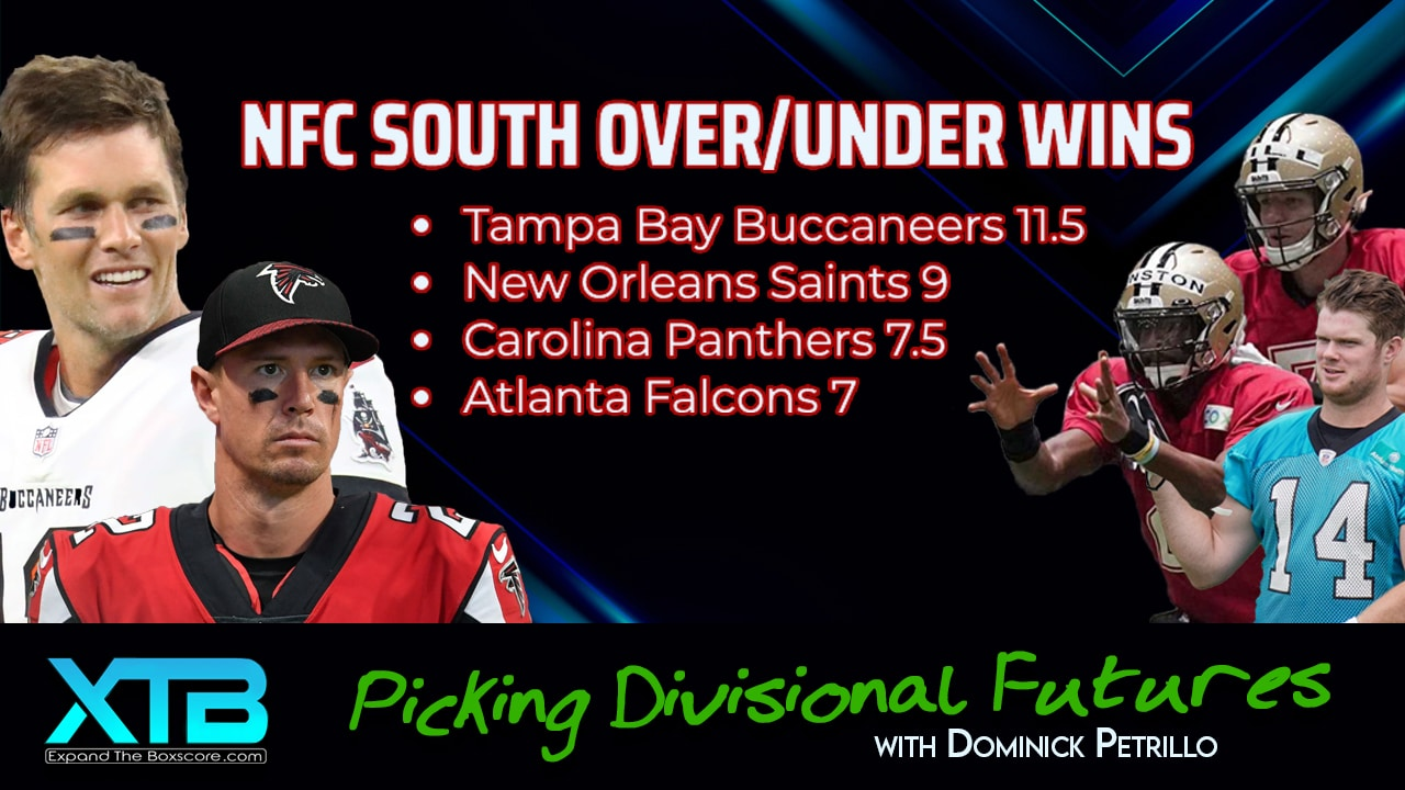 NFC South: Wins Total Futures