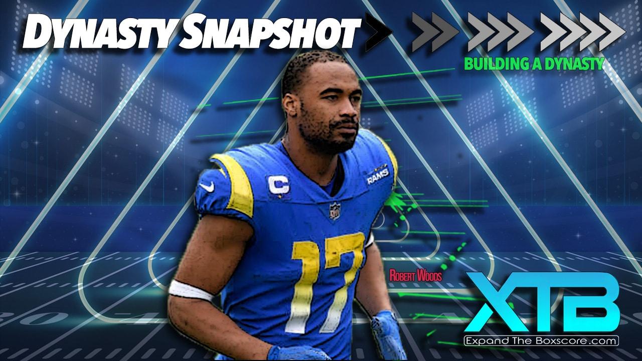 Dynasty Snapshot: Week 4