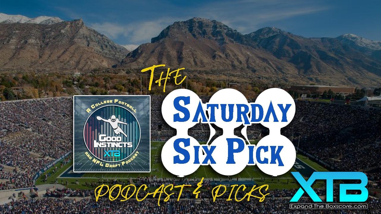Saturday Six Pick - CFB Week 4