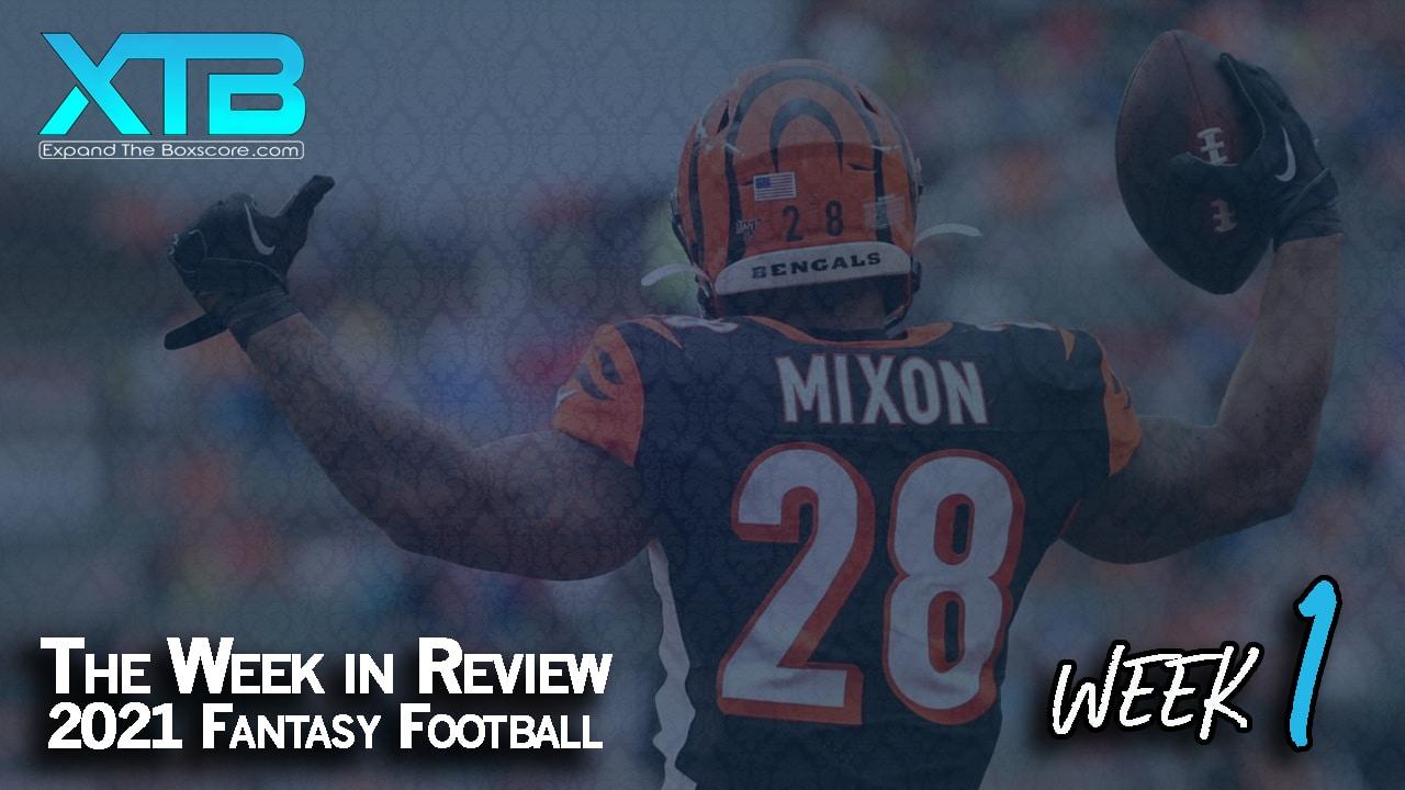 The Week in Review: Week 1