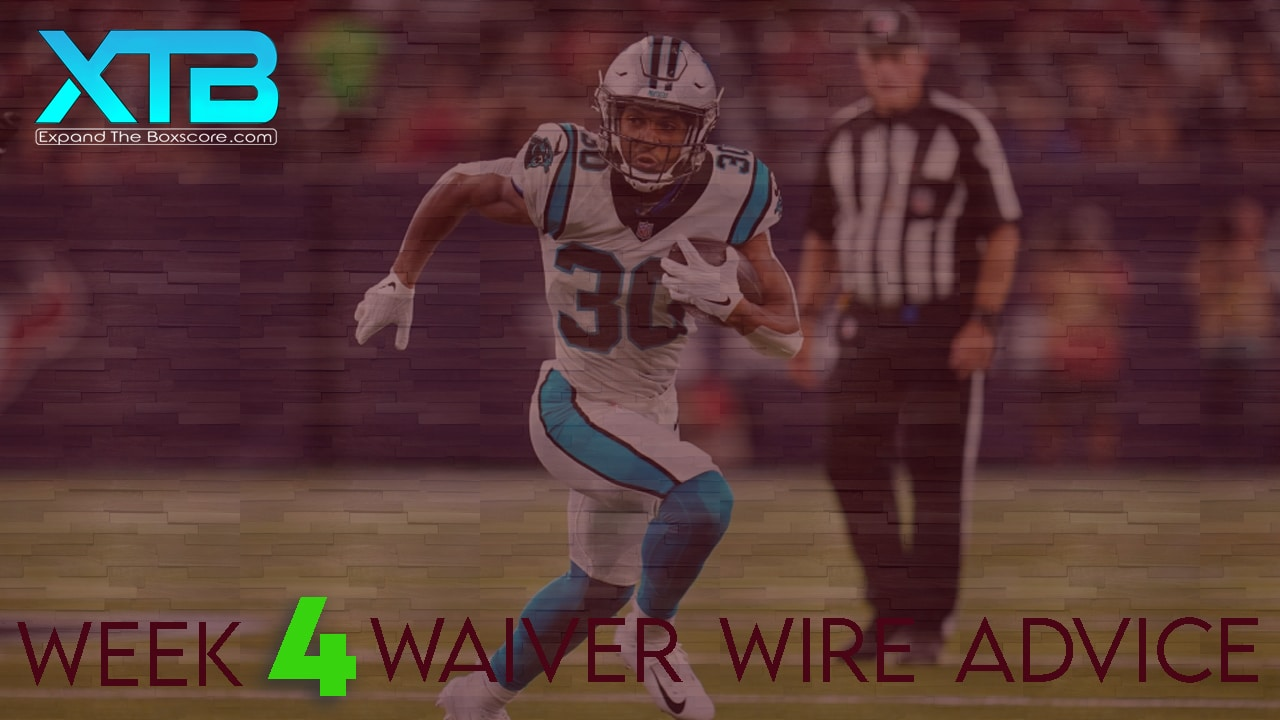 Waiver Wire Advice: Week 4