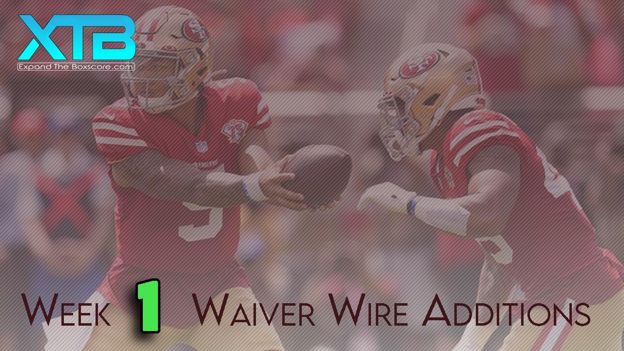 Week 1 Waivers